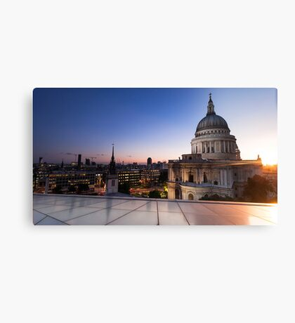 Transition of St. Paul Cathedral Canvas Print