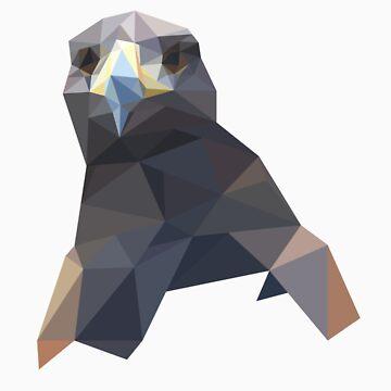 Hawk - Low Polygon Illustration by AmpersandCo