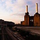 Battersea Power Station Sunset by Mattia  Bicchi Photography