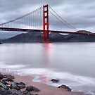 San Francisco's Golden Gate Bridge by Gregory Ballos