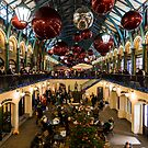 Christmas decoration of Covent Garden in London by Mattia  Bicchi Photography