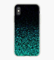 Mint Sparkle iPhone-Hülle & Cover