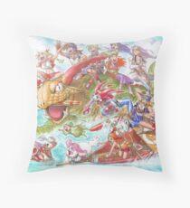 Chrono Cross: Swim Throw Pillow