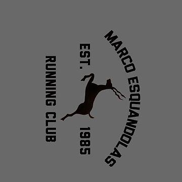Marco Esquandolas Running Club by jonnycottone