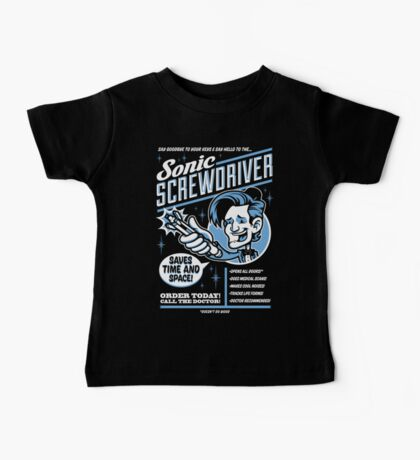 Sonic Screwdriver Ad Kids Clothes