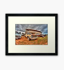 Lost in Time Framed Print