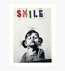 Banksy Poster. Art Print