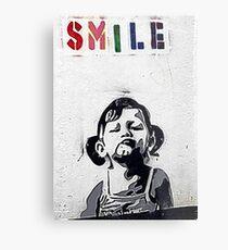 Banksy Poster. Metal Print