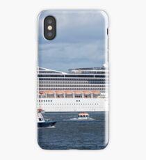MSC Magnifica up close iPhone Case/Skin
