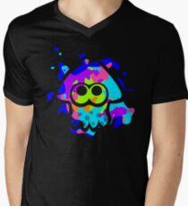 Splatoon Squid Men's V-Neck T-Shirt