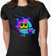 Splatoon Squid Womens Fitted T-Shirt