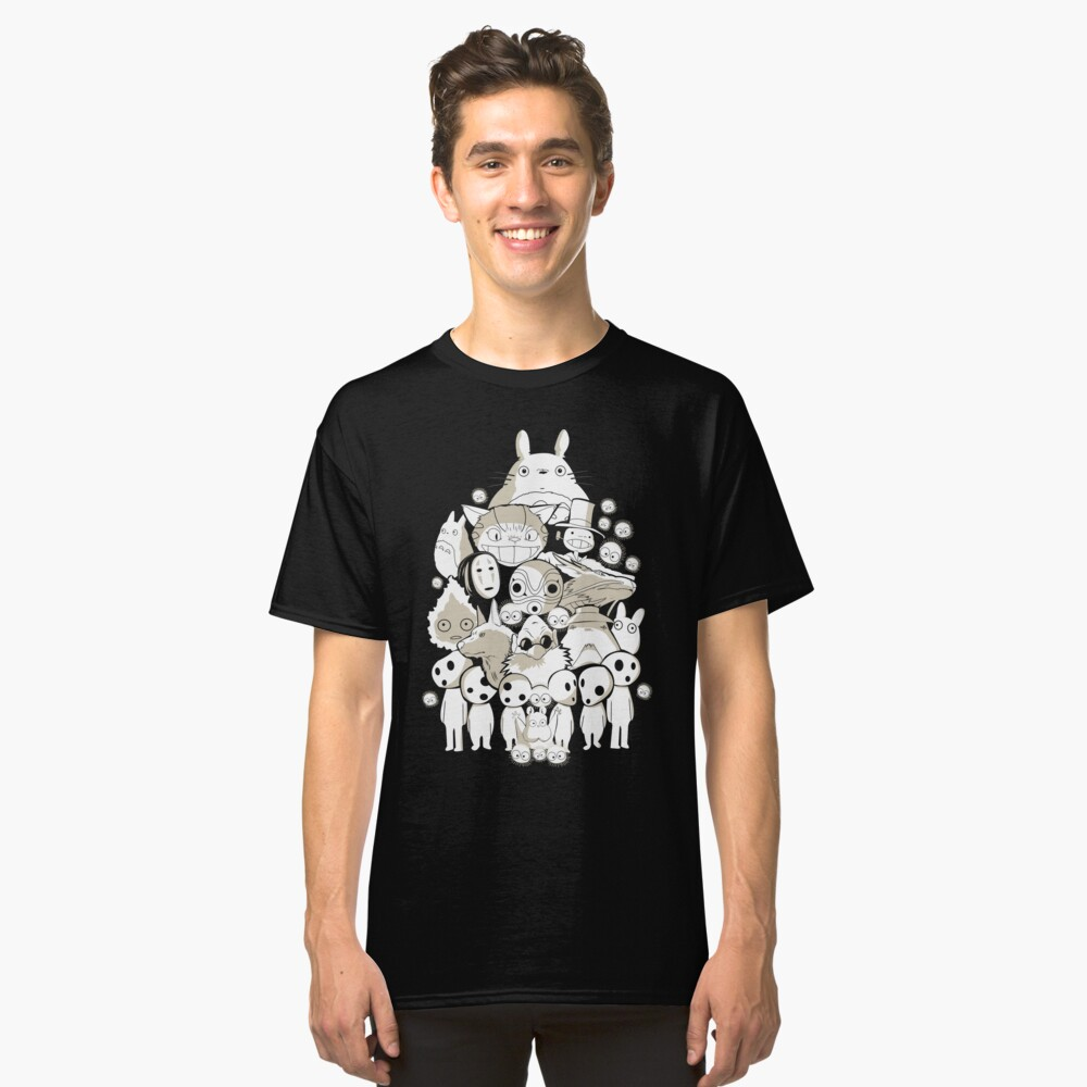 My neighborhood friends Classic T-Shirt Front