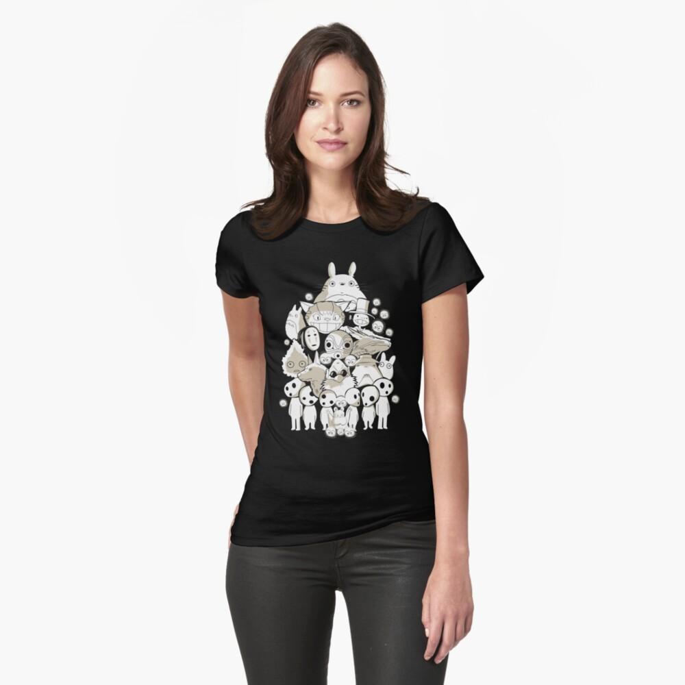 Meine Nachbarschaftsfreunde Frauen T-Shirt Vorne