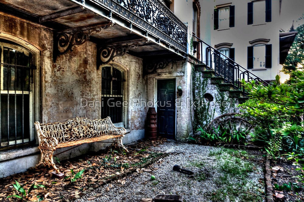 The old Bench by Dani Gee Phokus & [x]Pose