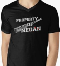 Property Of Negan Men's V-Neck T-Shirt