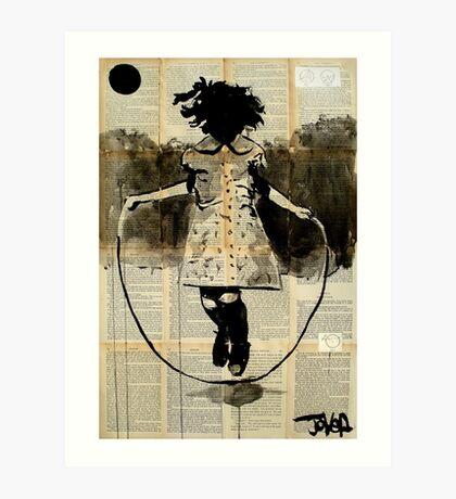 childhood (dancing with gravity) Art Print