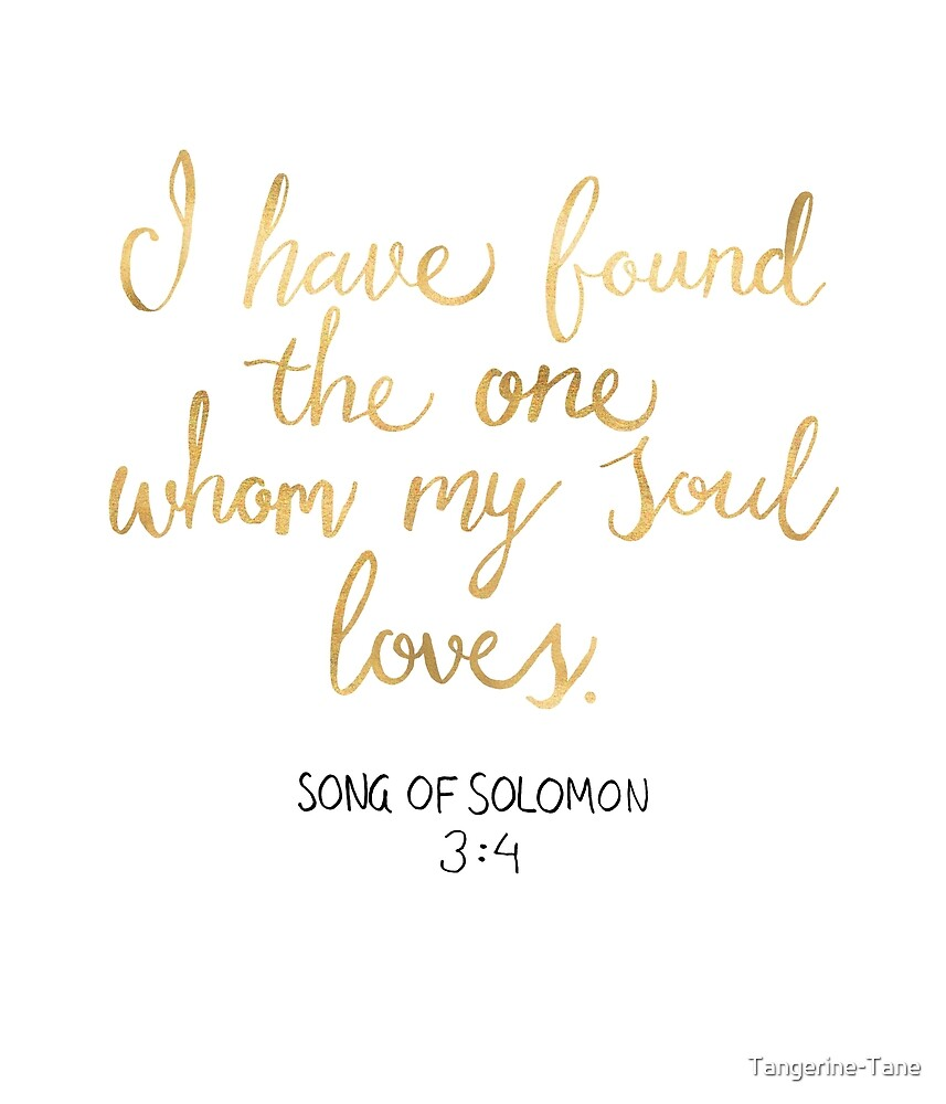 Song of Solomon 3:4 - Customer Request by Tangerine-Tane