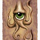 eye of Cthulhu  by Mark Rodriguez (Godriguez)