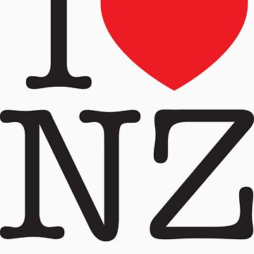 I LOVE NZ by KwongyBoy