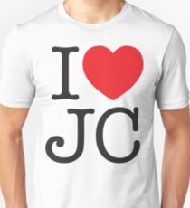 I LOVE JC Unisex T-Shirt