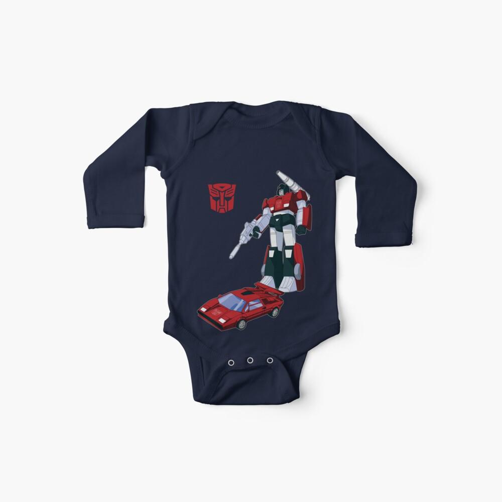 Sideswipe (camisetas de color oscuro) Body para bebé