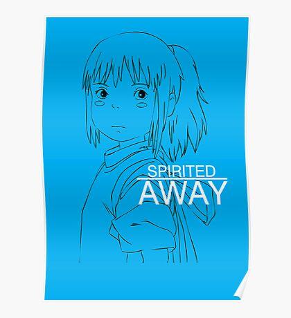 Spirited Away - Chihiro Poster