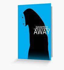 Spirited Away - No Face Greeting Card