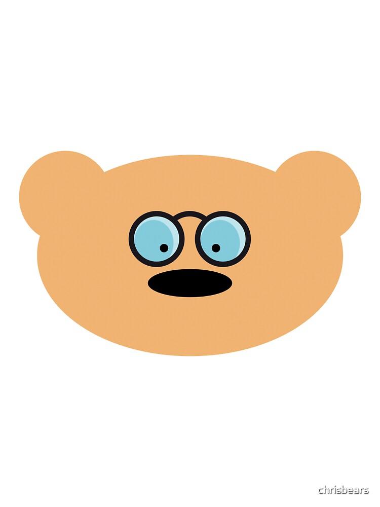 Teddy Bear with glasses by chrisbears