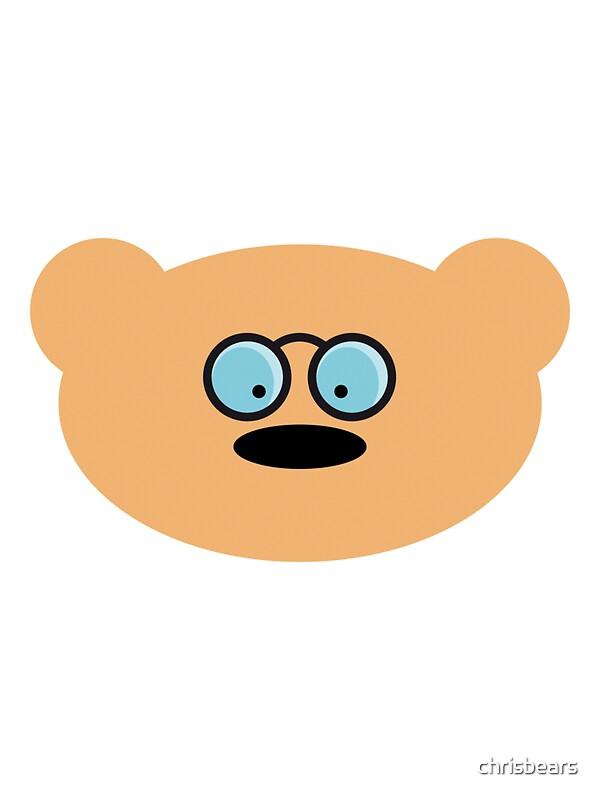"""""""Teddy Bear with glasses"""" by chrisbears 