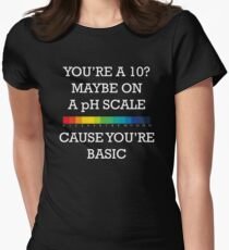 You're Basic! Women's Fitted T-Shirt