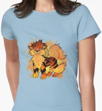 Arcanine - with background T-Shirt