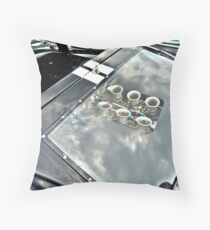 Ford GT40 Engine Throw Pillow