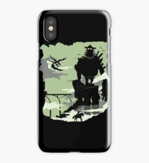 Silhouette of the Colossus iPhone Case