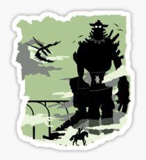 Silhouette of the Colossus Sticker