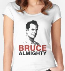 Bruce Willis Women's Fitted Scoop T-Shirt