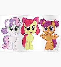 CMC with Pigtails Poster