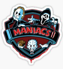 MANIACS II Sticker