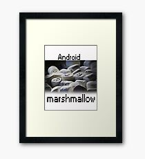 Android Marshmallow Framed Print