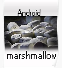 Android Marshmallow Poster