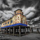 Lifeboat Station Colourised by manateevoyager