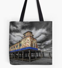 Lifeboat Station Colourised Tote Bag