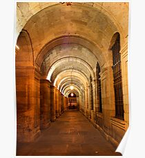 Raxoi Palace in Santiago de Compostela, Spain Poster