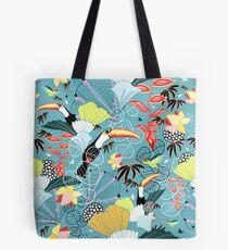 tropical birds Tote Bag