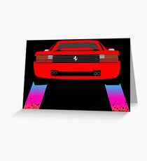 Testarossa - Nightcall Greeting Card