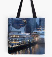 Port Metro - Vancouver BC Tote Bag