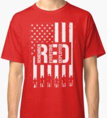 R.E.D. (Remember Everyone Deployed) Classic T-Shirt