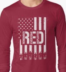R.E.D. (Remember Everyone Deployed) Long Sleeve T-Shirt