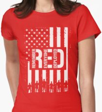 R.E.D. (Remember Everyone Deployed) T-Shirt
