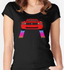 Testarossa - Nightcall Women's Fitted Scoop T-Shirt