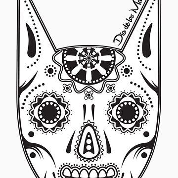 Dia de los ManBat - Hero sugar skull by DannyBastard